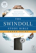 Cover: The Swindoll Study Bible NLT, Large Print