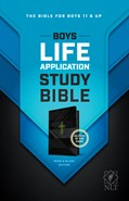 Cover: Boys Life Application Study Bible NLT