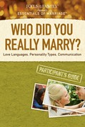 Cover: Who Did You Really Marry? Participant's Guide