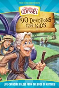 Cover: 90 Devotions for Kids in Matthew