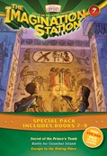 Cover: Imagination Station Books 3-Pack: Secret of the Prince's Tomb / Battle for Cannibal Island / Escape to the Hiding Place