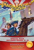 Cover: Imagination Station Books 3-Pack: The Redcoats Are Coming! / Captured on the High Seas / Surprise at Yorktown