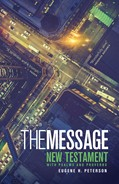 Cover: The Message New Testament with Psalms and Proverbs