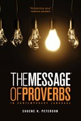 Cover: The Message of Proverbs