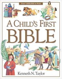 A Child's First Bible: Hardcover