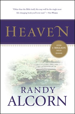 Front cover image of Heaven by Randy Alcorn. this timeless bestselling book is a fantastic gift for a new believer who wants to learn more about Heaven.
