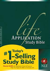 NLT Life Application Study Bible, Second Edition: Hardcover, Red Letter