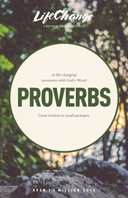 Front cover image of LifeChange Bible study. Proverbs.