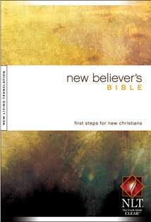 New Believer's Bible NLT: Hardcover
