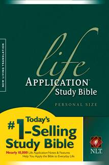 Life Application Study Bible NLT, Personal Size: Softcover