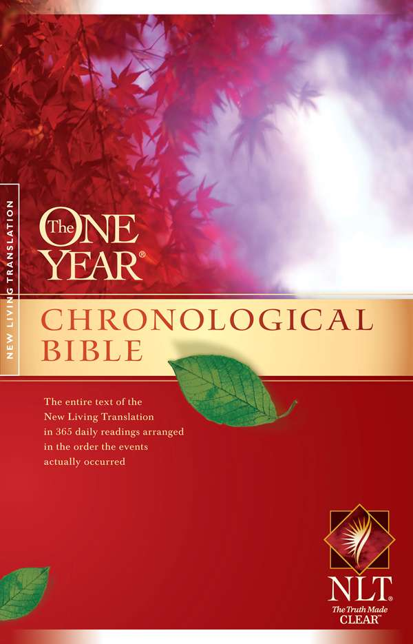 Cover of The One Year Chronological Bible by Tyndale House Publishers