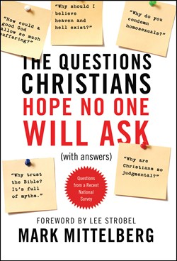 Front cover image of The Questions Christians Hope No One Will Ask. A great resource for Biblical truth on some of the biggest questions new believers may have.