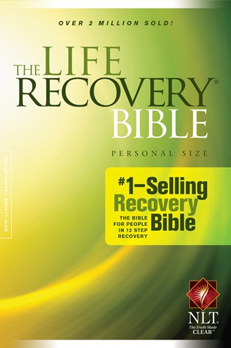 The Life Recovery Bible NLT, Personal Size: Softcover