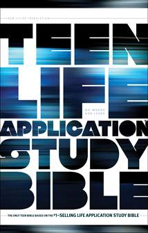 NLT Teen Life Application Study Bible: Softcover