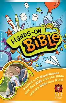 Hands-On Bible NLT: Hardcover