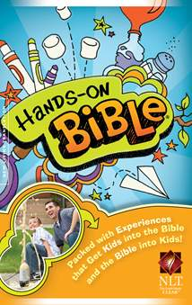 Hands-On Bible NLT: Softcover