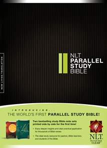 NLT Parallel Study Bible: Hardcover