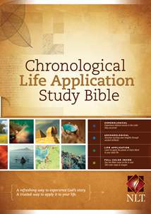 NLT Chronological Life Application Study Bible: Hardcover
