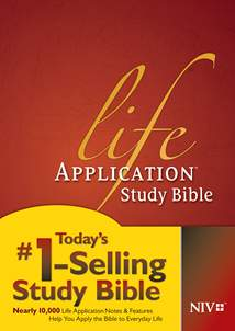 Life Application Study Bible NIV: Hardcover