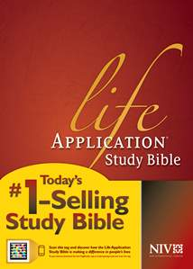 Life Application Study Bible NIV: Hardcover, Indexed
