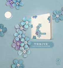 NLT THRIVE Creative Journaling Devotional Bible: Hardcover