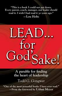 Lead . . . for God's Sake!: Hardcover