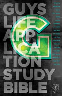 Guys Life Application Study Bible NLT: Hardcover