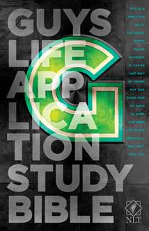 NLT Guys Life Application Study Bible: Softcover