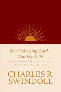 Good Morning, Lord . . . Can We Talk?: LeatherLike