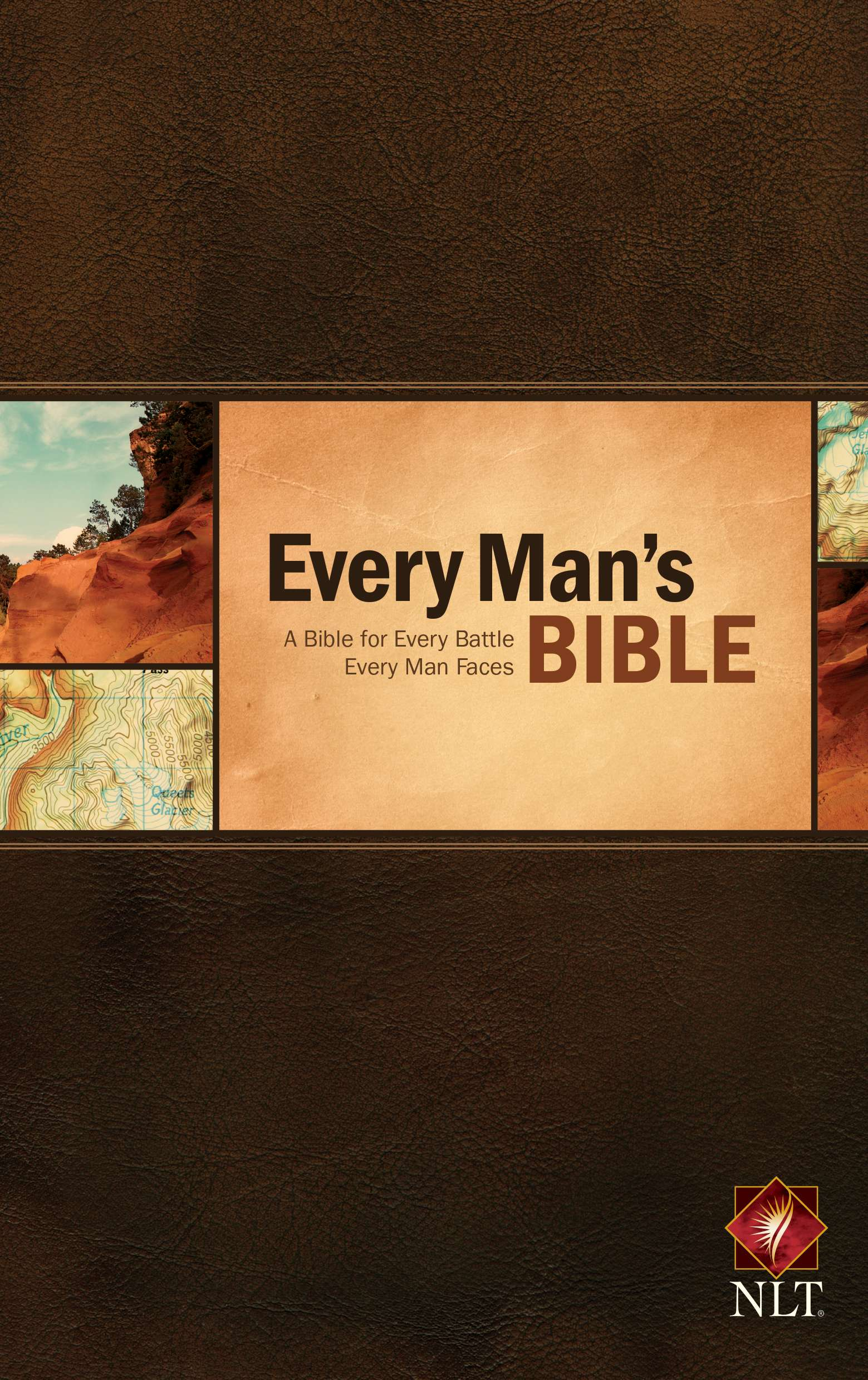 Cover of The Every Man's Bible NLT from Tyndale House Publishers