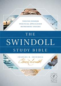 The Swindoll Study Bible NLT: Hardcover