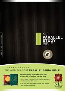NLT Parallel Study Bible: Hardcover, Indexed