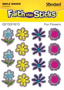 Fun Flowers: Stickers