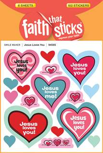 Jesus Loves You: Stickers