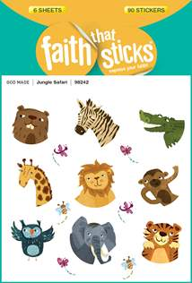 Jungle Safari: Stickers