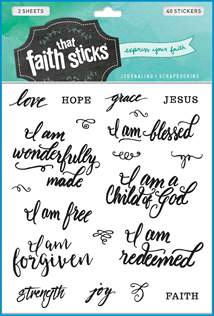 Who I Am in Christ: Stickers