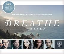 Breathe Bible New Testament NLT Audio CD: CD MP3
