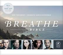 Breathe Bible New Testament NLT Audio CD: CD