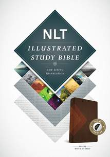 Illustrated Study Bible NLT Deluxe: LeatherLike, Indexed, Brown/Tan TuTone