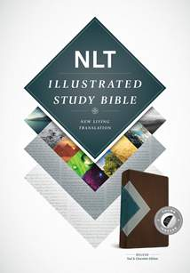 Illustrated Study Bible NLT Deluxe: LeatherLike, Indexed, Teal/Chocolate TuTone