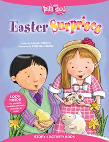 Easter Surprises Story + Activity Book: Softcover