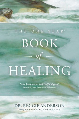 Image result for the one year book of healing - Tyndale