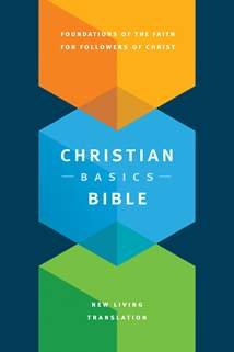 Christian Basics Bible NLT: Hardcover