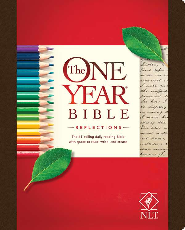 Cover of The One Year Journaling Bible by Tyndale House Publishers
