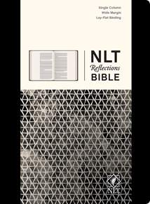 NLT Reflections Bible: Hardcover Deluxe, Sketchbook Black
