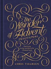 The Wonder of Advent Devotional: Hardcover
