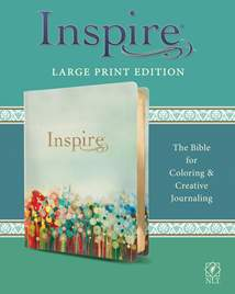 Inspire Bible Large Print NLT: LeatherLike
