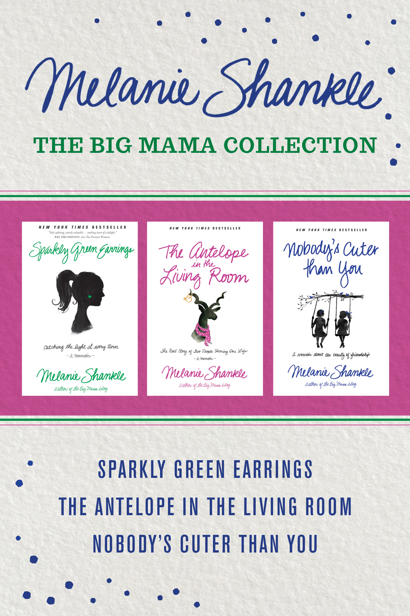 Tyndale | The Big Mama Collection: Sparkly Green Earrings / The ...