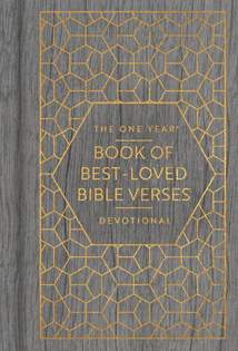 The One Year Book of Best-Loved Bible Verses Devotional: Hardcover