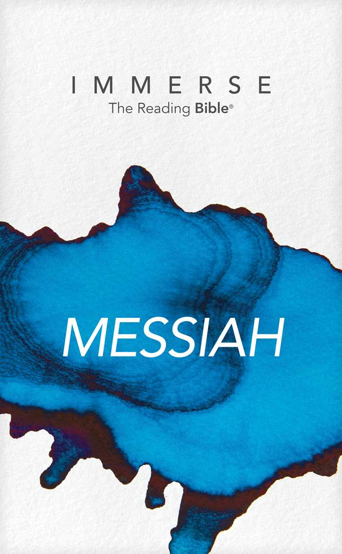 Cover of Immerse: Messiah, the first of six volumes from Immerse: The Bible Reading Experience